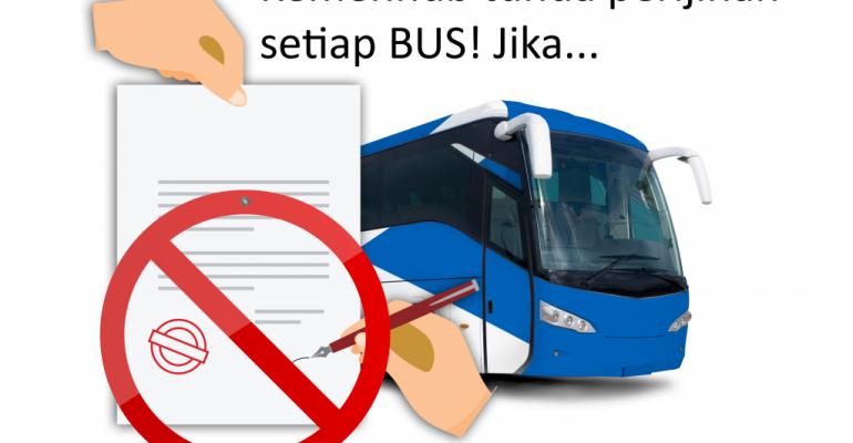 Tahun Ini Semua Proses Perijinan Setiap Bus Akan di Tunda! Jika Tidak Dipasang GPS Tracker